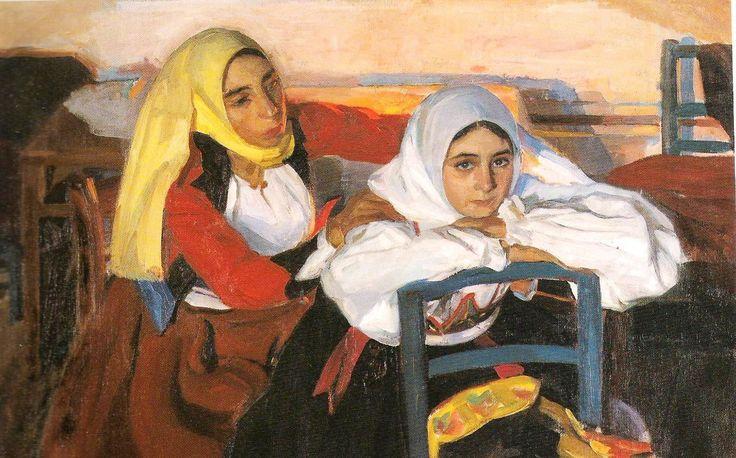 Mujeres de Mamoiada - Antonio Ortiz Echagüe