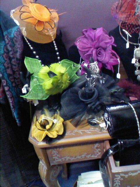A few of our stunning fascinators