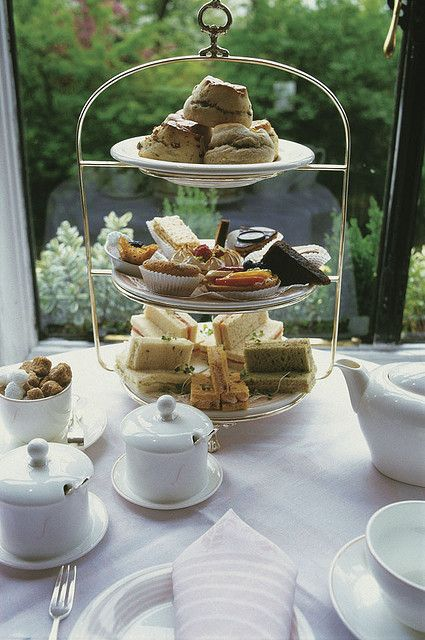 Afternoon Tea at the Savoy Hotel, London