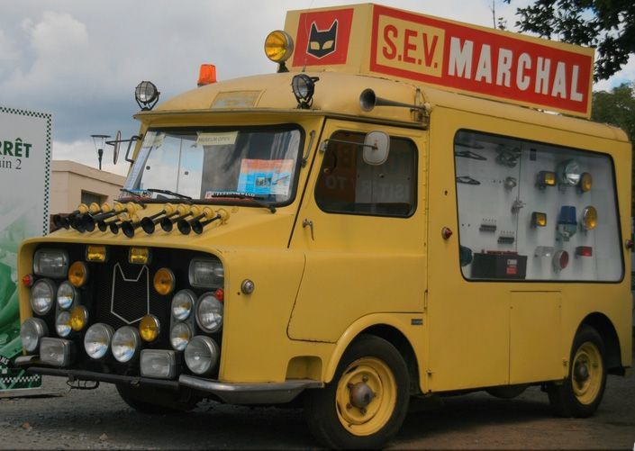 S.E.V Marchal Promotional Vehicle