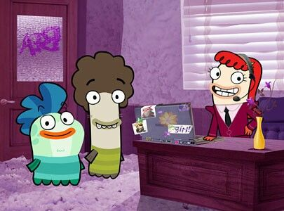 23 best images about fish hooks on pinterest disney for Fish hooks disney