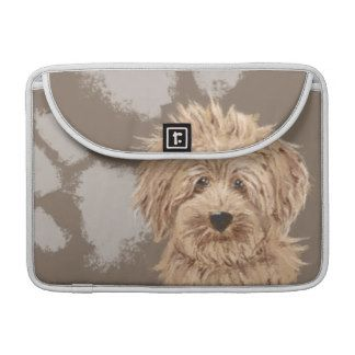 Labradoodle Macbook Sleeve Personalized Backround Sleeves For MacBooks