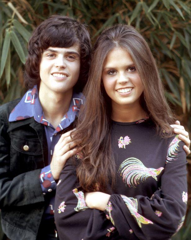 donny & marie osmond.