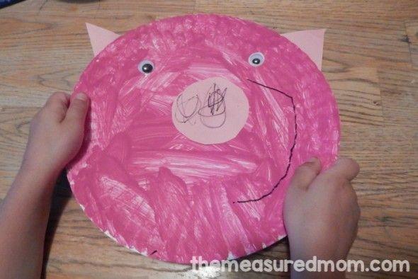 Letter P activities for preschool - The Measured Mom