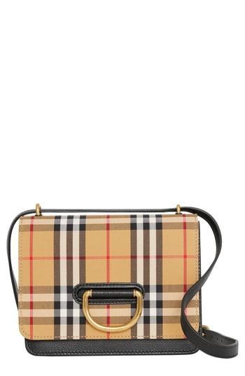 The perfect Burberry Small D-Ring Leather Crossbody Bag Women s Fashion  Handbags.   1590 785713e6ecd74