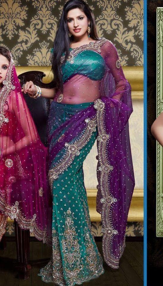 Mejores 142 imágenes de Sarees en Pinterest   Blusa sari, Ropa ética ...