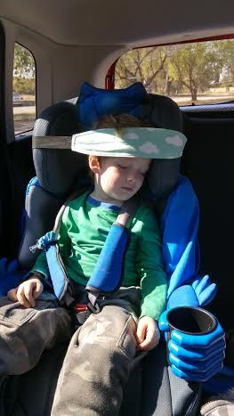 A lot of car sleeping accessories for kids are limited to safety or cushioning. The Nap Strap supports the head of your child and stops it…