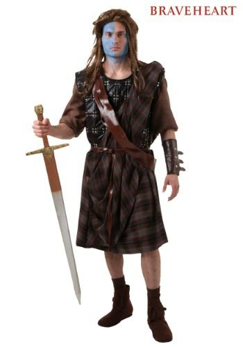 For Scotland! This officially licensed William Wallace Costume is the perfect way to show off that you are a serious movie fan.