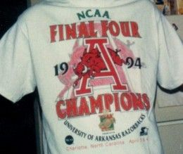 1994 Arkansas Razorback Basketball Team | How to Make Your NCAA Basketball Bracket Predictions - and more March ...