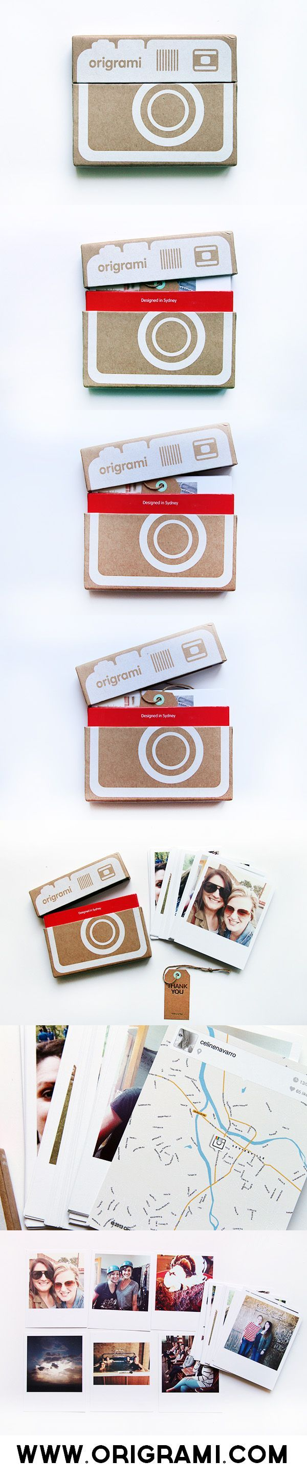 photographs - capturing big moments. lovely packaging idea, something to consider to promote the exhibition using the element of social media and technology