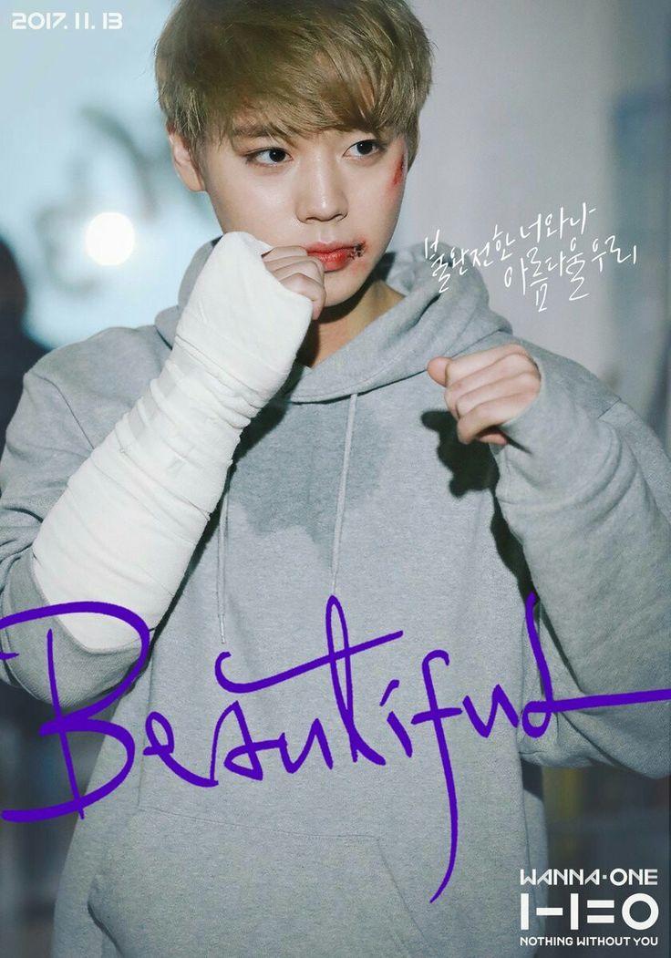 Wanna One | Beautiful MV poster | Jihoon