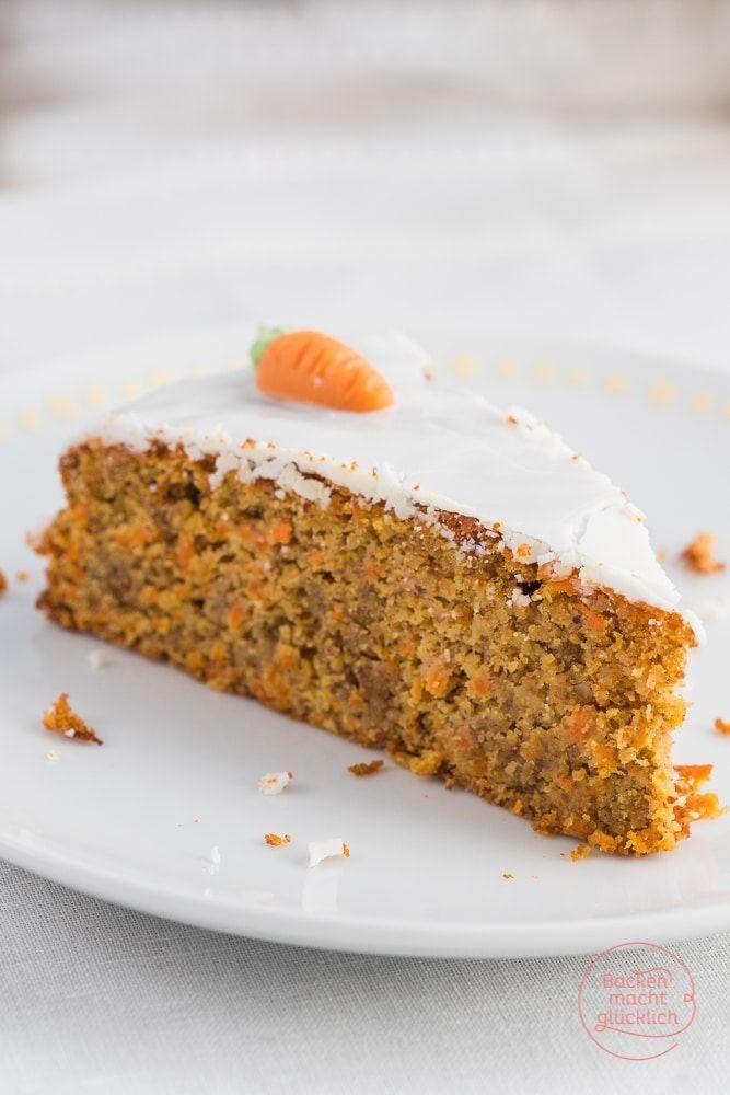 Saftiger Karottenkuchen ohne Mehl