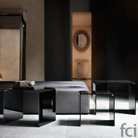 Rialto Tris Set Of 3 #CoffeeTable by #FiamItalia starting from £360. Showroom open 7 days a   week. #fcilondon #furniture_showroom_london #furniture_stores_london   #fiam_italia_accessories #fiamitalia_furniture #modern_furniture_accessories #fiamitalia_coffee_table   #modern_coffee_table