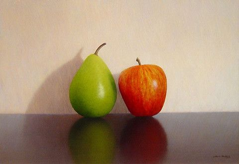 Pear and Apple no.4 by Mark Rodgers