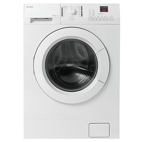 Buy John Lewis JLWM1412 Slim Depth Freestanding Washing Machine, 7kg Load, A+++ Energy Rating, 1400rpm Spin, White Online at johnlewis.com