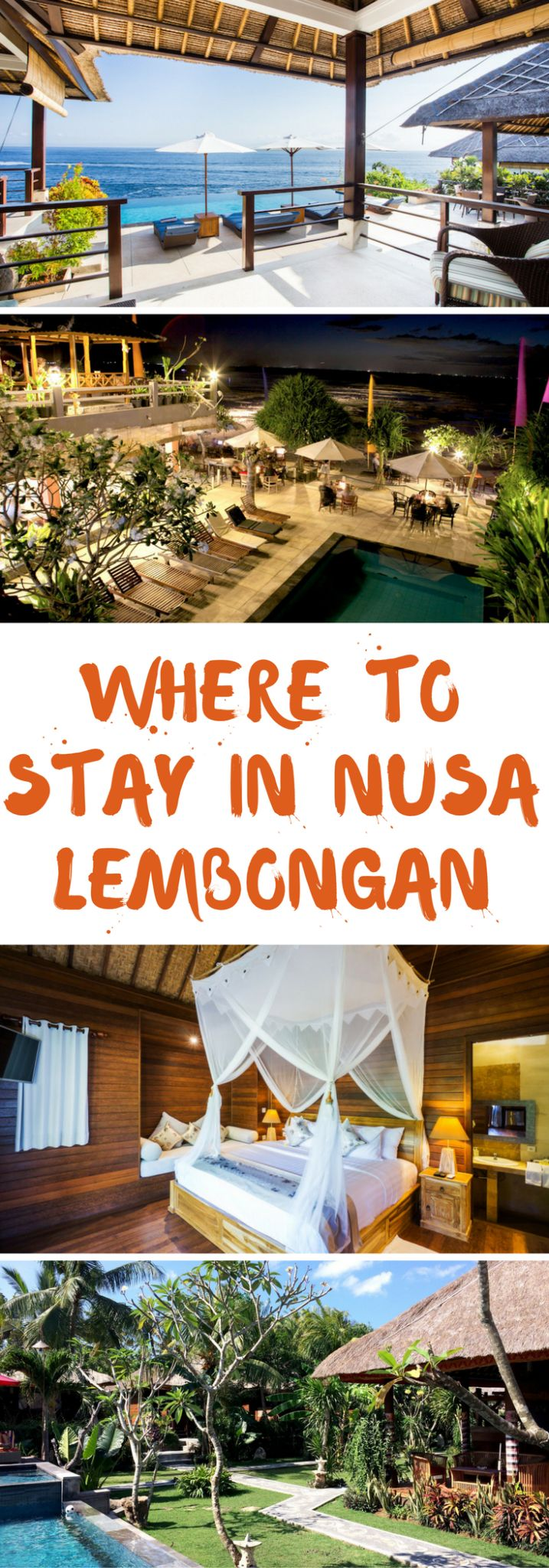 Wondering where to stay in Nusa Lembongan? This is a complete guide for accommodation in Nusa Lembongan and how to find the best places to stay at in Lembongan. Read this guide before you travel to Nusa Lembongan!