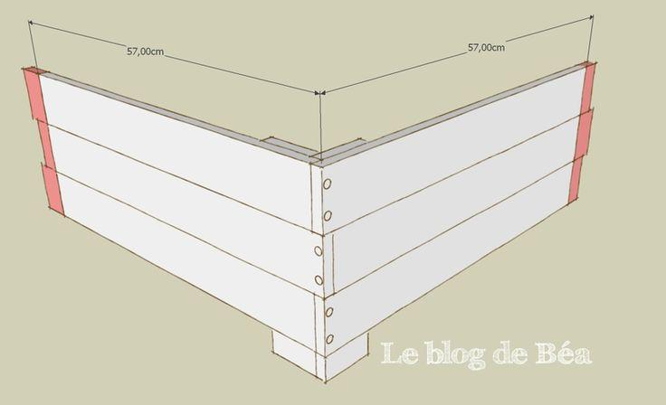 25 best ideas about carre potager en bois on pinterest - Construction jardiniere palette ...