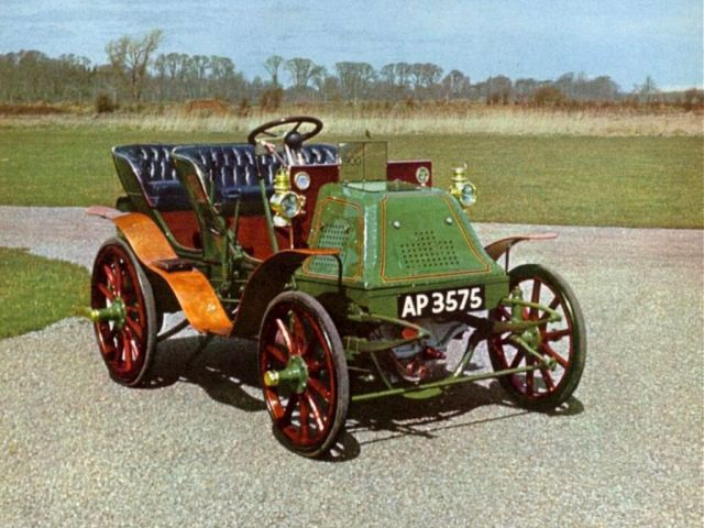 old cars/ 1900 Napier