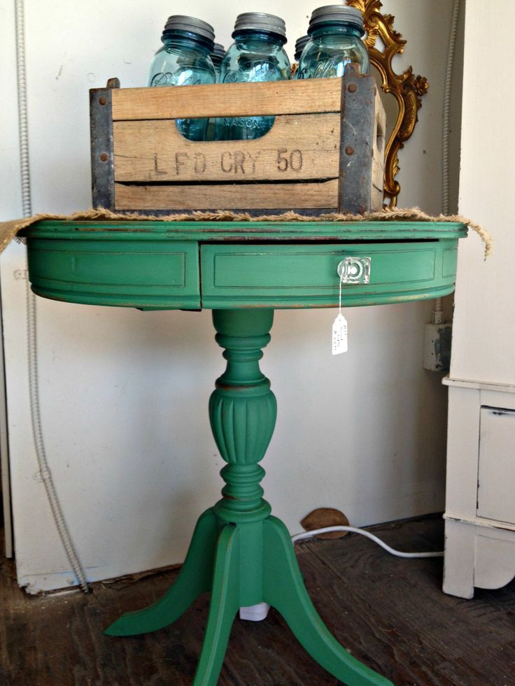 redoing furniture ideas. antique side table painted in the beautiful redoing furniture ideas