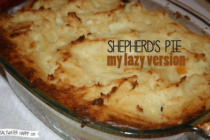 ... on Pinterest | Pies, Easy Shepherds Pie and Vegetarian Shepherds Pie