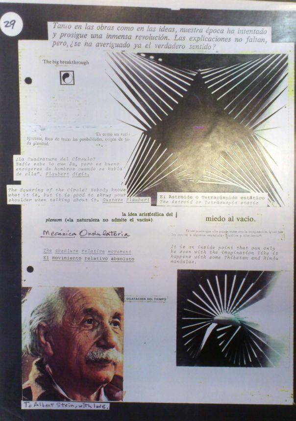Cuaderno Óvulo, del artista Frank Rebajes: mecánica ondulatoria