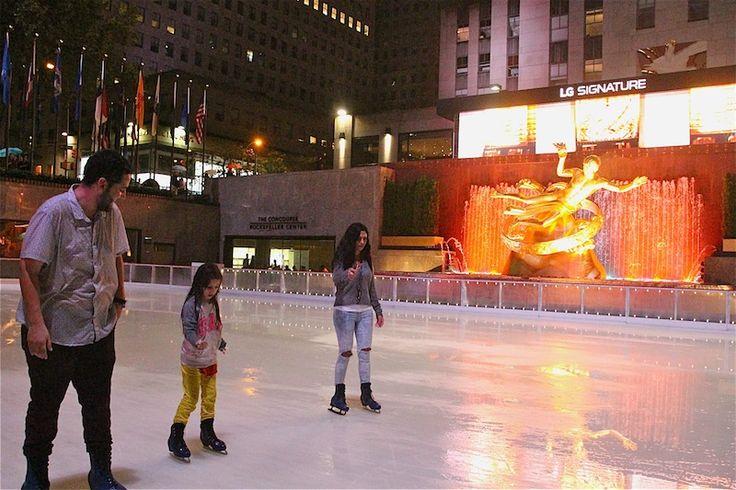 The Rink at Rockefeller Center(ロックフェラーセンター スケートリンク)