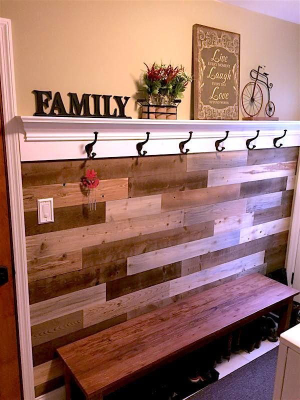 Transition Your Space With Reclaimed Wood From A Northern Maine River Timberchic