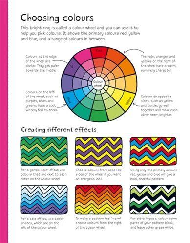 Elements Of Art Worksheets   Elements and Principles of Art & Design  Worksheets / choosing colors  Colour SchemesColor ...