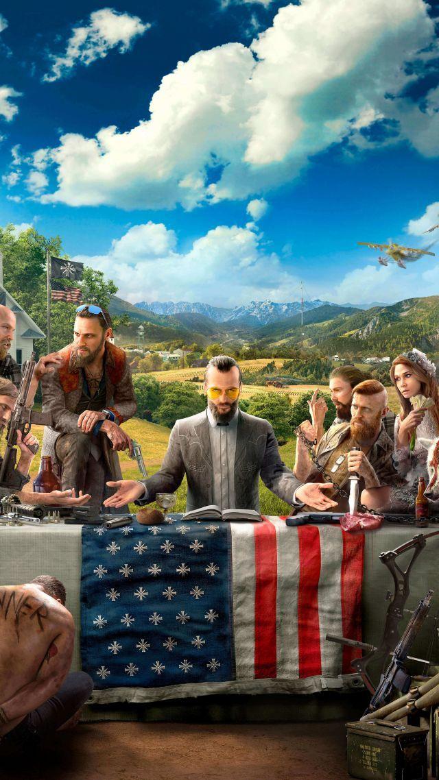 Far Cry 5 4k Hd E3 2017 Verticale Best Far Cry 5 Far Cry 5