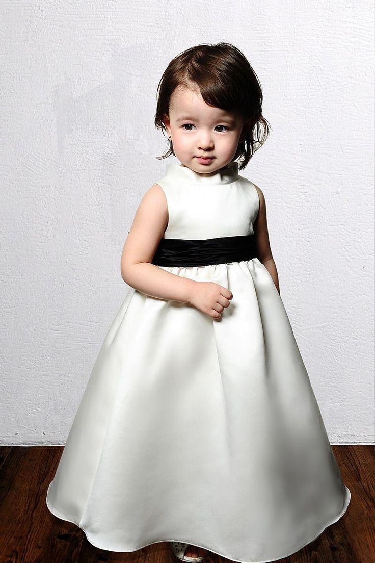 Sleeveless natural waist satin dress for flower girl,bridesmaid gowns dress,bridesmaid gowns dresses
