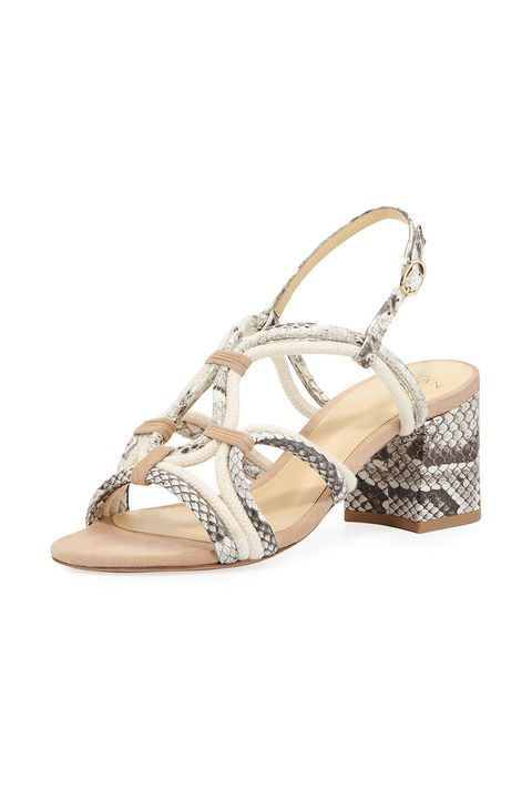 Alexandre Birman Giovanna Strappy Python Rope Sandal With Images Rope Sandals Trending Shoes Animal Print Boots