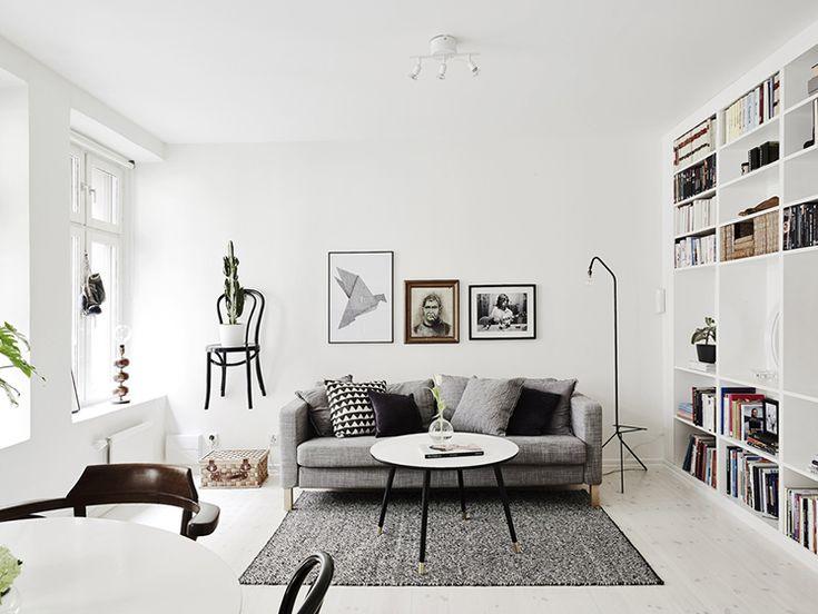 swedish living room style