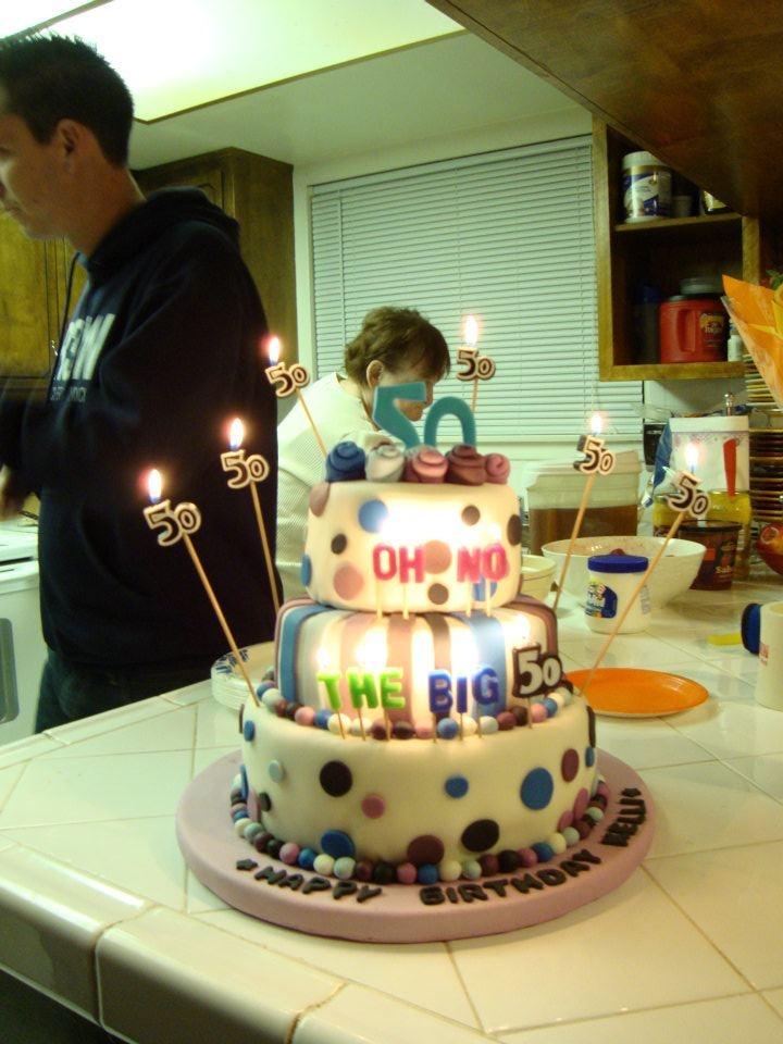 50th Birthday cake for Kelli
