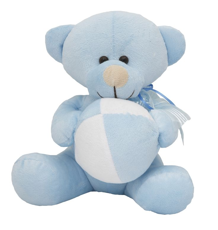 Celebrate the arrival of a baby boy with a Teddy Bear he'll love growing up with. #teddybear #itsaboy #babyboy #newborn #baby #much #muchtoys