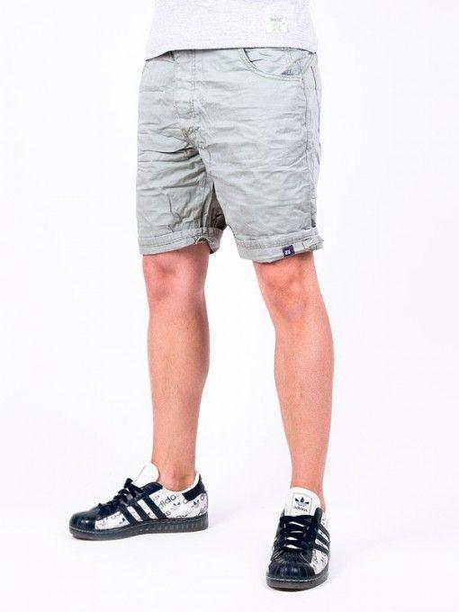 Pantaloni scurti barbati ZU bej gri