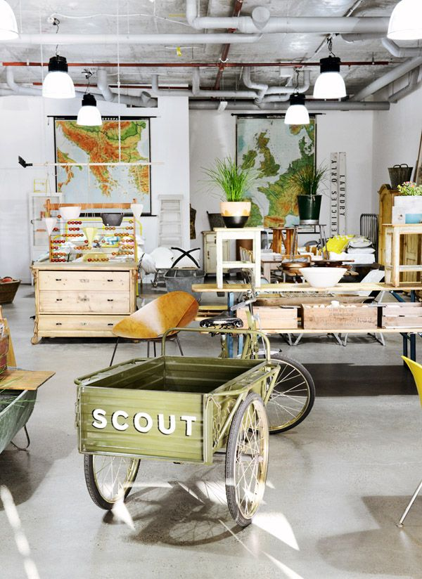 Scout House store, Melbourne - The Design Files