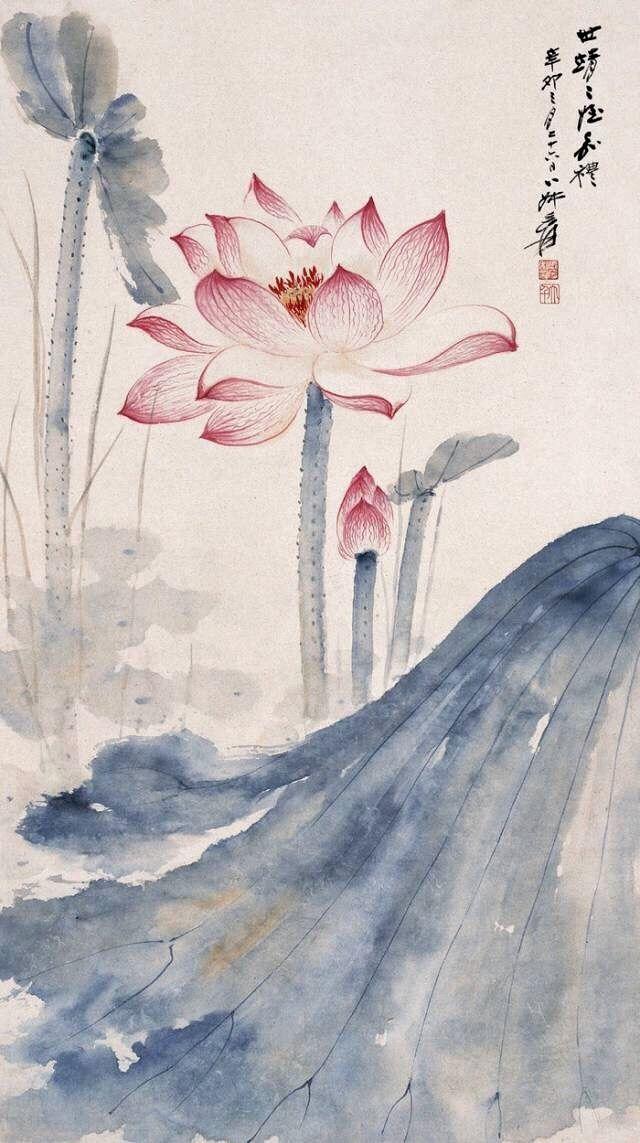 Pin By Panpan On 锦绣香江黄先生参考资料 Lotus Art Lotus