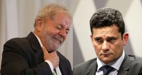 Discurso de Lula para embate com Moro vaza e terminará com 'Moro, eu sou seu pai'