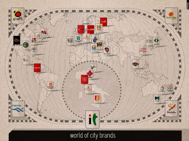 infographic City Brand