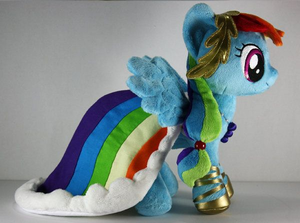 Rainbow dash wedding dress