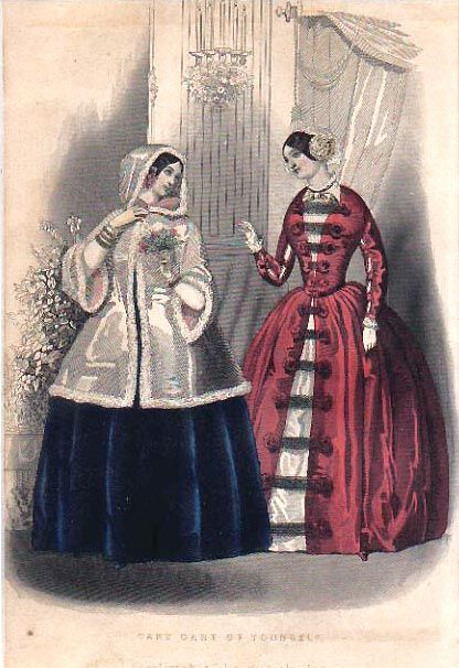 19th Century Western Costume: Hoop Era 1850 to 1870 - History of Fashion Design