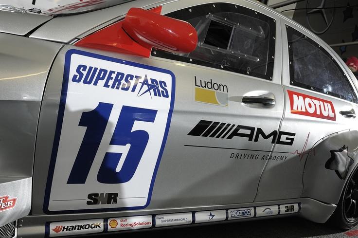 The Official Mercedes C63 AMG of Vitantonio Liuzzi