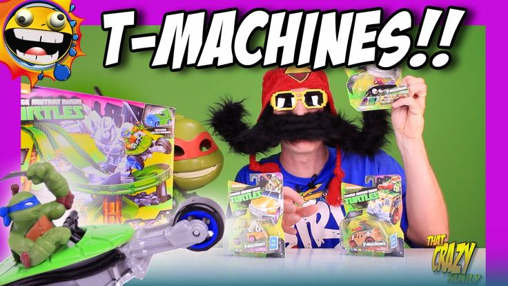TMNT Shredder Turtles Revenge T-Machines Set Opening!  TMNT T-Machines unboxing!!  These Heros-In-a-Half-Shell in vehicles are SO cool!! Hoping to do a collab video with the TMNT MASTER himself soon…no not Splinter! PixelDan!!