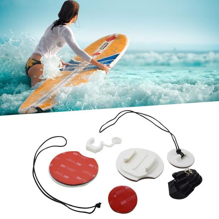 Surfing Beach Surfboard Surfing Kayak Camera Mount Holder Kits for Gopro Hero 2/3+/4 for GP105   #Affiliate