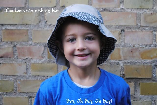 Let's Go Fishing Hat