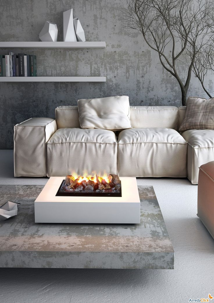 Rigoletto electric water fuelled fireplace - ARREDACLICK