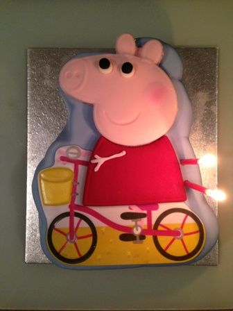 Cake Decoration At Coles : Peppa Pig Cake_coles_melbourne_Peppa Pig_birthday cake_oh ...