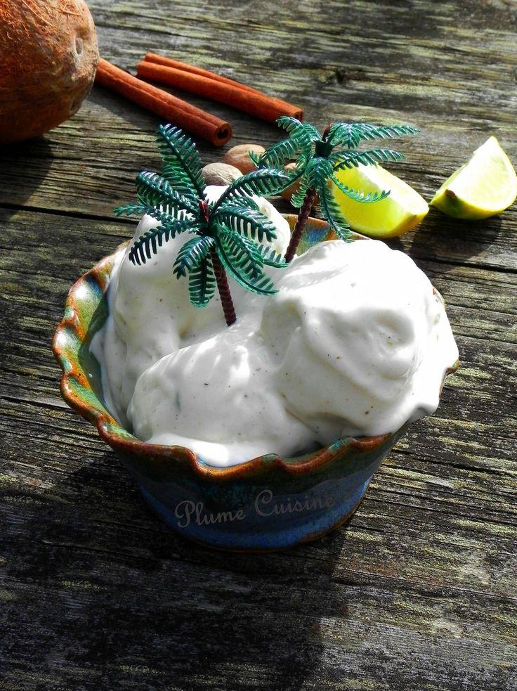 Sorbet au coco Antillais (délicieux, onctueux, et sans sorbetière!)