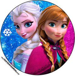 Imprimés Anna & Elsa : http://fazendoanossafesta.com.br/2014/09/frozen-roxo-e-azul-kit-completo-com-molduras-para-convites-rotulos-para-guloseimas-lembrancinhas-e-imagens.html/