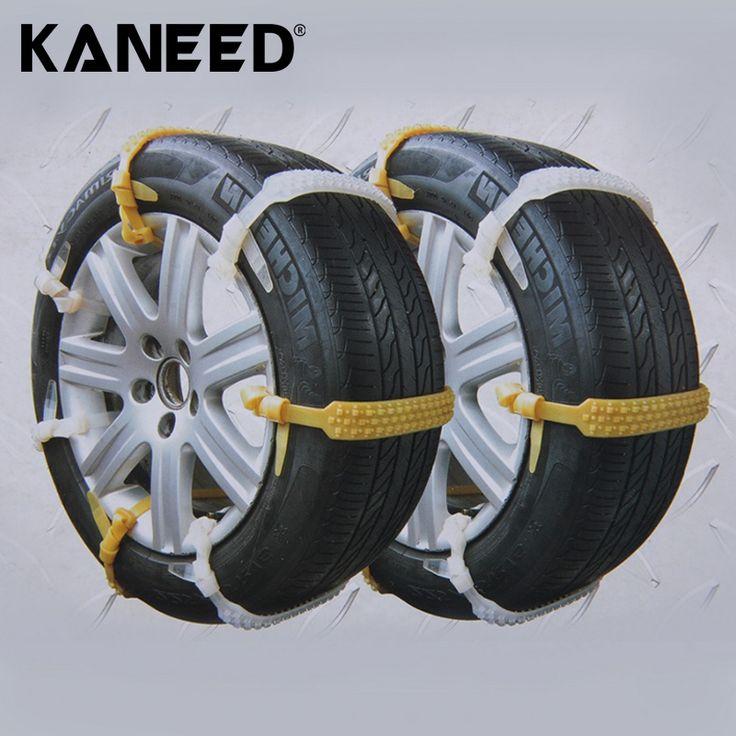 10pcs/Set Car Tire Snow Chains Beef Tendon VAN Wheel Universal Tyre Anti-skid TPU Snow Chains Auto Snowblower For Mug Ice